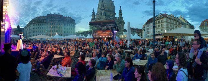 Stadtfest Dresden, Schauspielerin Stefanie Bock, Die Fete endet nie, Bpulevardtheater Dresden, Köln, Schneewittchen