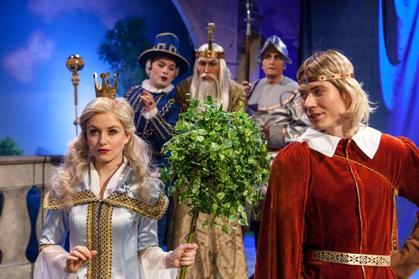 Das singende klingende Bäumchen - Stefanie Bock, Dresden, Boulevardtheater, Prinzessin Tausendschön